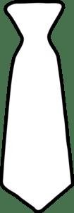 Plain White Tie Clip Art at Clker.com - vector clip art ...