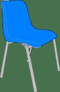 Classroom Blue Chair Clip Art at Clker.com - vector clip ...
