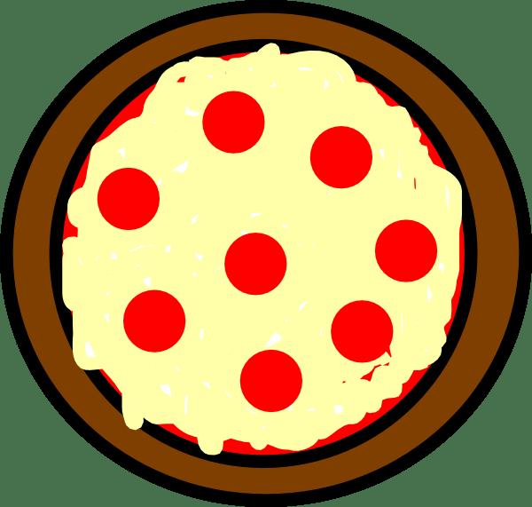 pizza clip art - vector