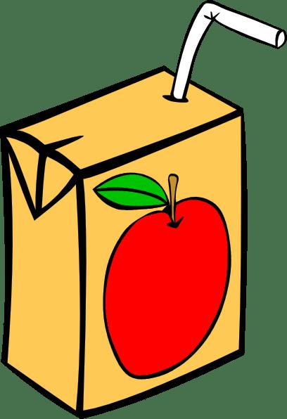apple juice box clip art
