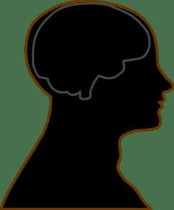 Man Brain Grey Clip Art At Clker Com Vector Clip Art