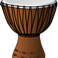 Back gt gallery for gt cartoon african drum
