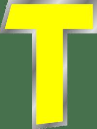 Letter T Clip Art at Clker.com - vector clip art online ...
