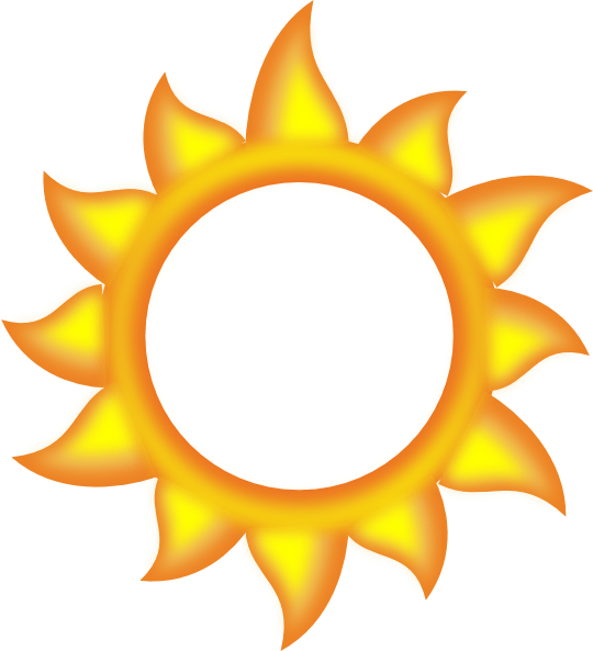 sun cartoon clip art