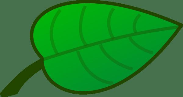 leaf clip art - vector