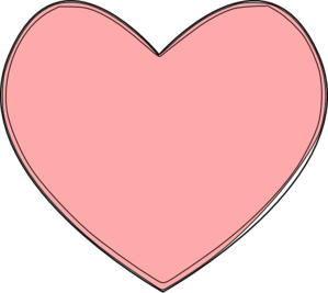 Heart Multiple Pink Layers Clip Art at Clkercom vector
