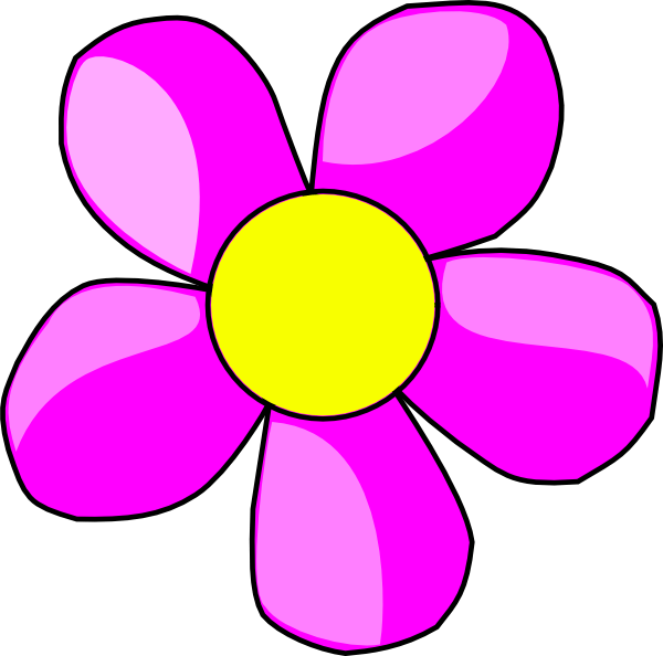 purple flower 2 clip art