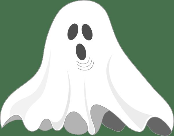 ghost clip art - vector