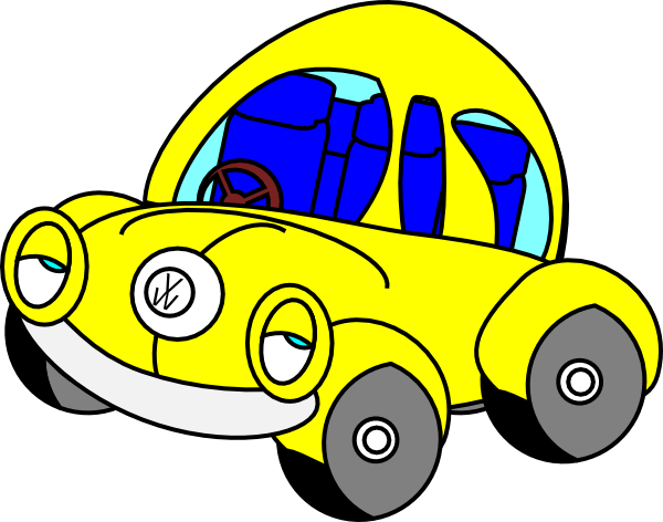 Sleepy Vw Beetle Clip Art at Clkercom  vector clip art