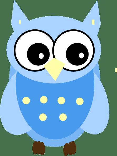 Blue Owl Clip Art At Vector Clip Art Online