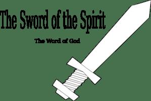 Sword Of The Spirit Template Clip Art at Clker.com