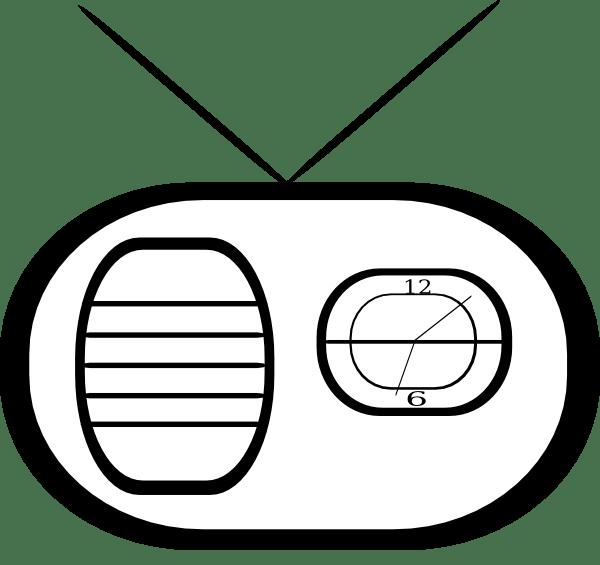 Clock Radio Clip Art At Vector Clip Art Online