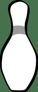 Bowling Pin Clip Art at Clker - vector clip art online