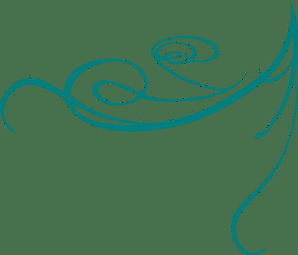 Blue Decorative Swirl Clip Art At Vector Clip