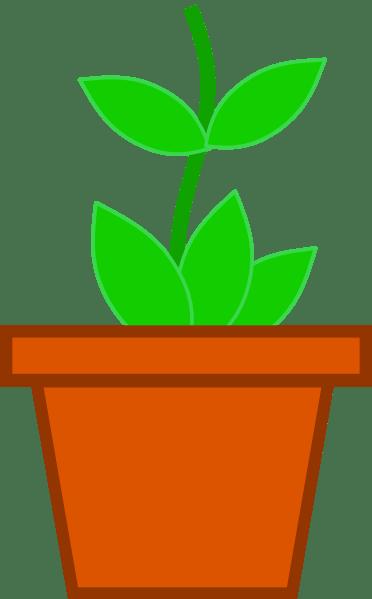 pot flower clip art