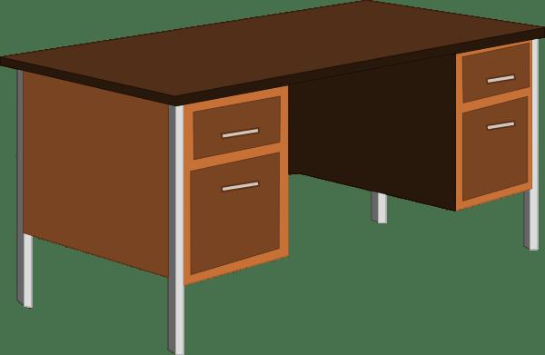 Office Desk Clip Art at Clkercom  vector clip art online