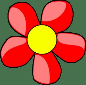 flower red clip art