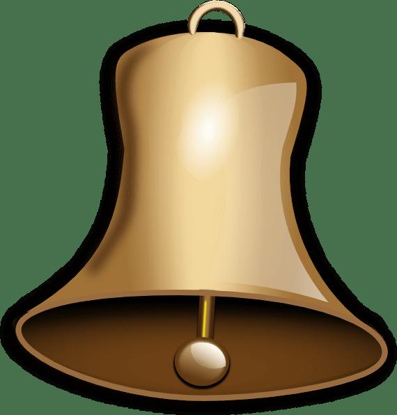 bell clip art - vector