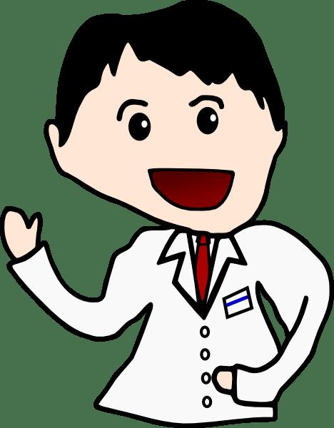 Cartoon Doctor Clip Art at Clkercom  vector clip art