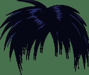 anime hair clip art