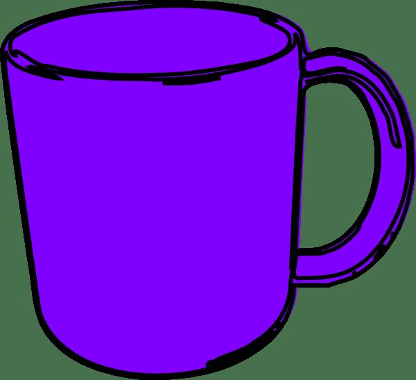 mug clip art - vector