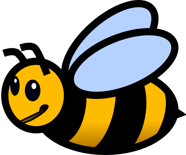 small bee clip art