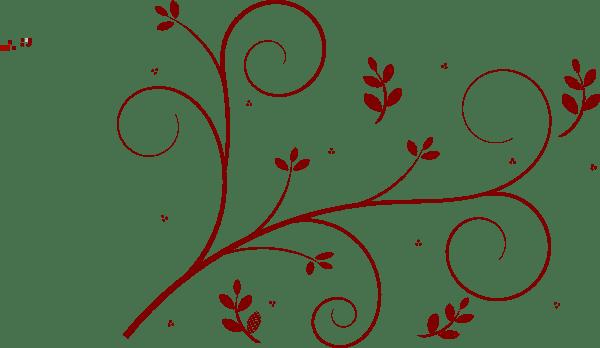 decorative floral vine clip art