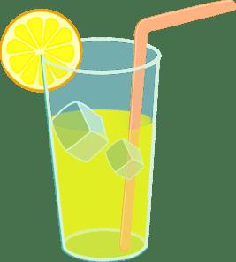 lemonade glass clip art