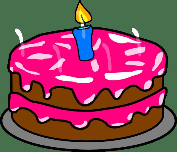 cake clip art - vector