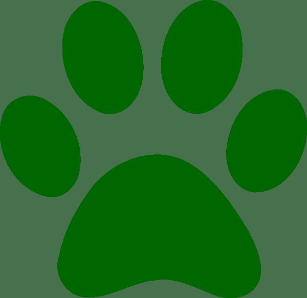 green dog clipart - photo #25