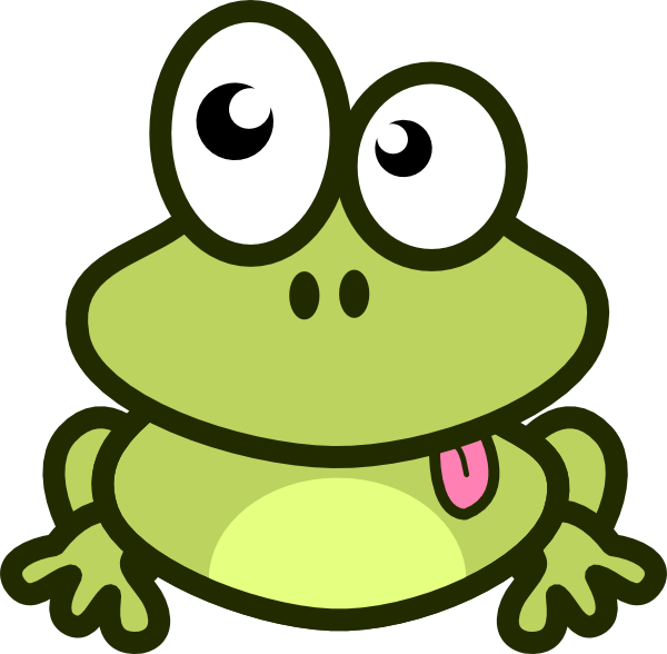 frog cartoon clip art