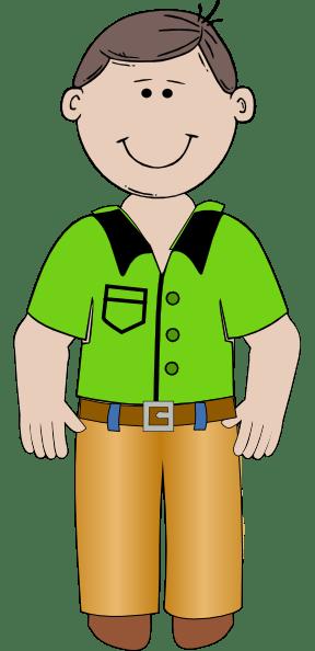 cartoon man clip art