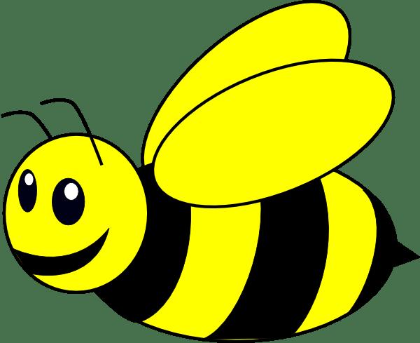 bumble bee yellow clip art