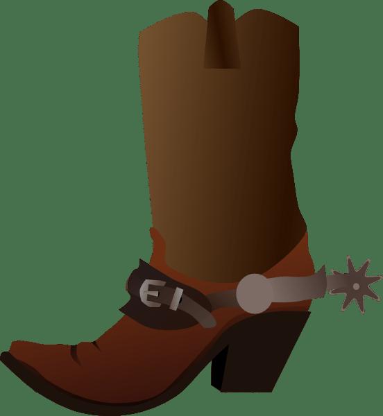 Hat Art Spur Cowboy Clip