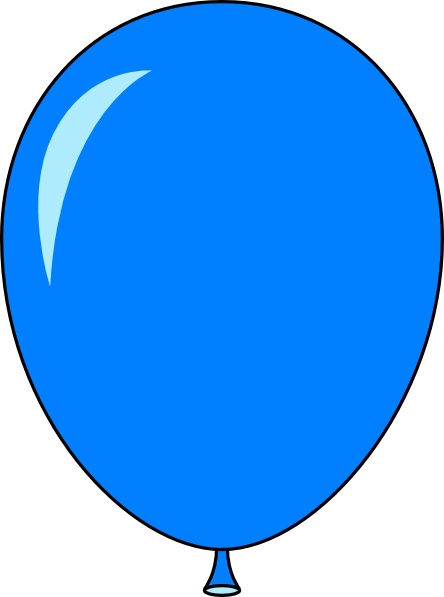 blue balloon - light lft clip
