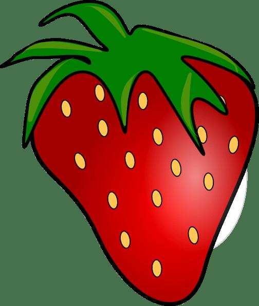 red delicious strawberry clip