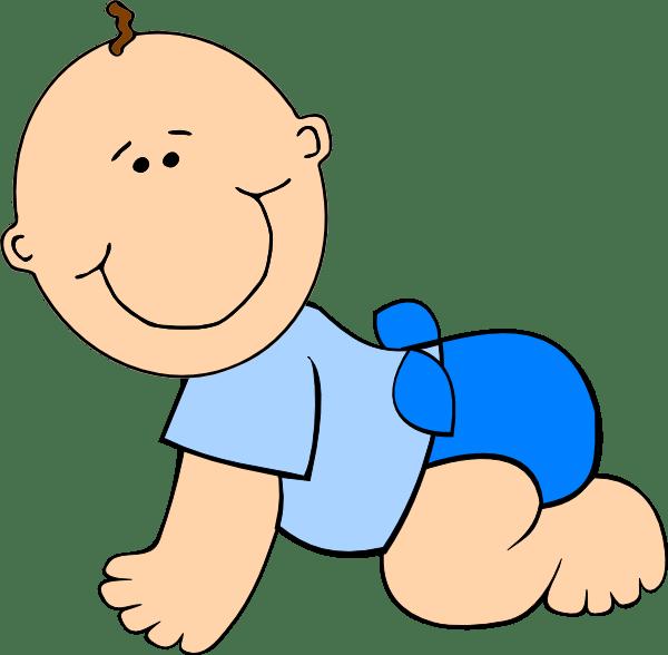 baby clip art - vector