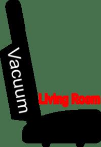 Chore: Vacuum Living Room Parlor Clip Art at Clker.com ...