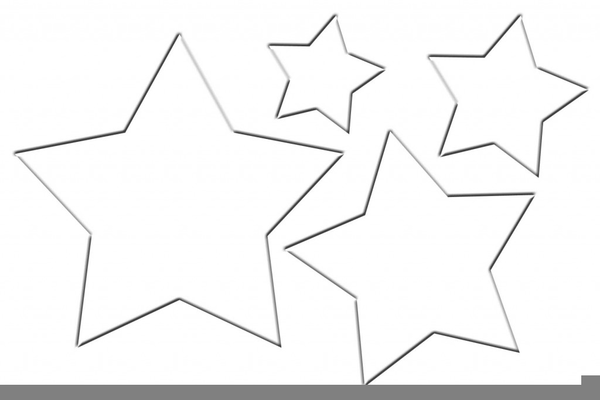 clipart star outlines free