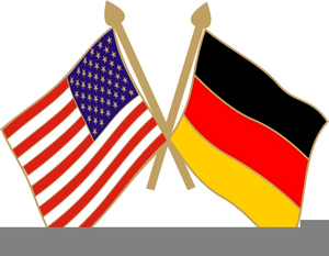 clipart german american flags