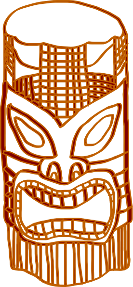 Love Wallpaper Boy N Girl Tiki Golden Brown Clip Art At Clker Com Vector Clip Art