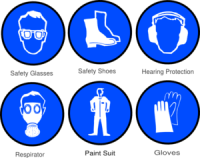 Paint Ppe Clip Art at Clker.com