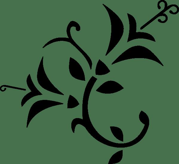 Stylized Flower Clip Art at Clkercom vector clip art
