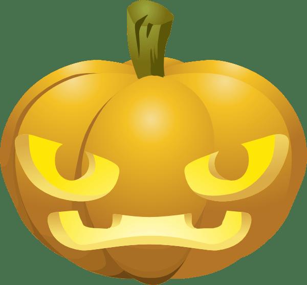 carved pumpkin clip art