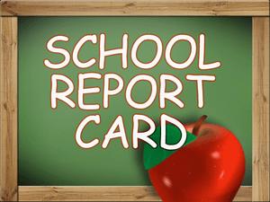 School Report Card Clipart Image