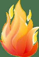 Flame 11 Clip Art