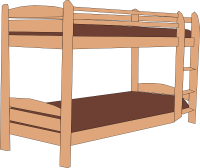 Bunk Bed Clip Art at Clker.com