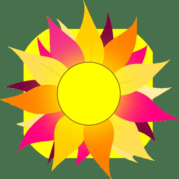wild sunflower clip art