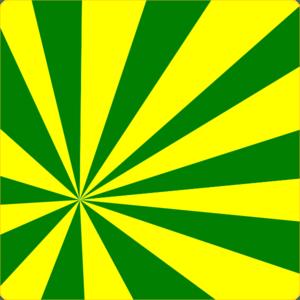 Yellow Green Sun Rays Clip Art at Clker.com - vector clip art online, royalty free & public domain