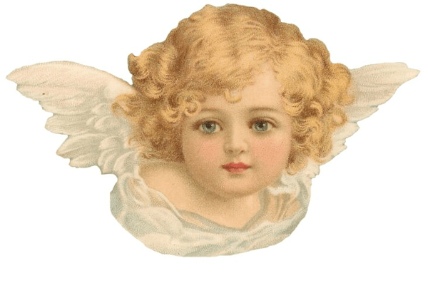 Small Cute Baby Kissing Wallpaper Free Victorian Angel Clipart Free Images At Clker Com